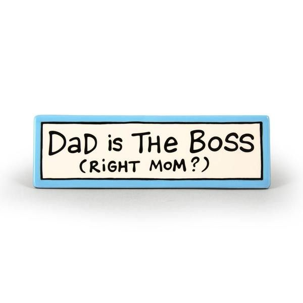 Dad Desk Plaque