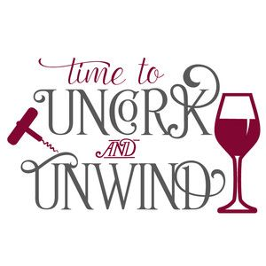 Silhouette Design Store: uncork and unwind