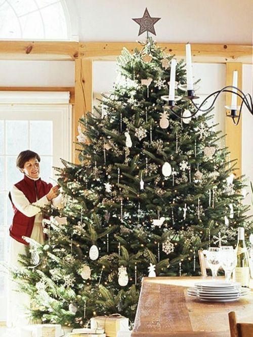 Die besten 25 geschm ckter weihnachtsbaum ideen auf - Weihnachtsbaum antik ...