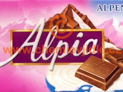 Alpia - Alpenmilch schokolade