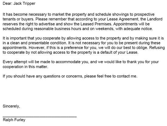 landlord tenant notices  u2013 rental property notices