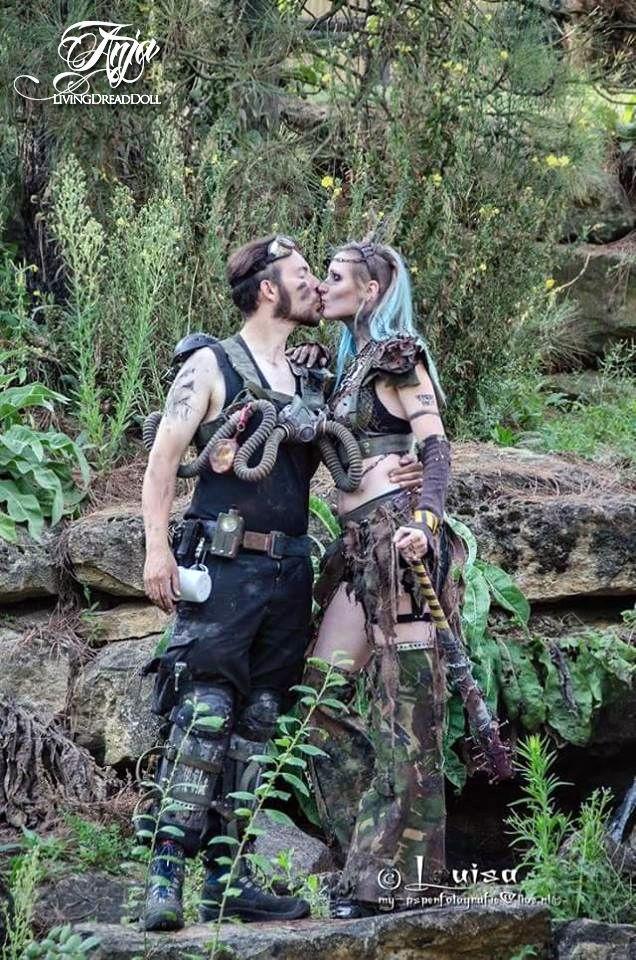 Post Apocalypse TRIBE RIOT Apocalyptic Love - Menerik & LivingDreadDoll…