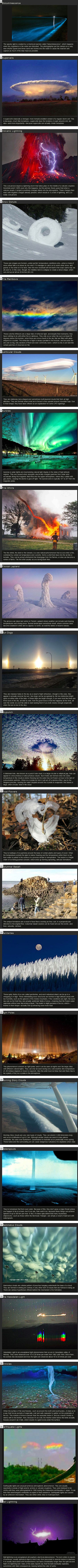 There are some really cool things in nature, here are 22 of them explained.