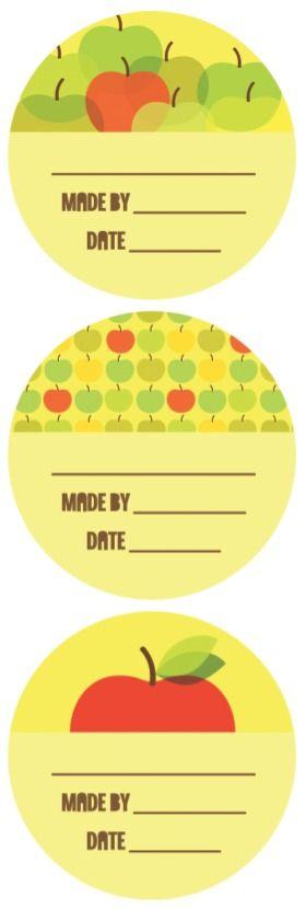 TodaysMama.com - Printable Canning Labels