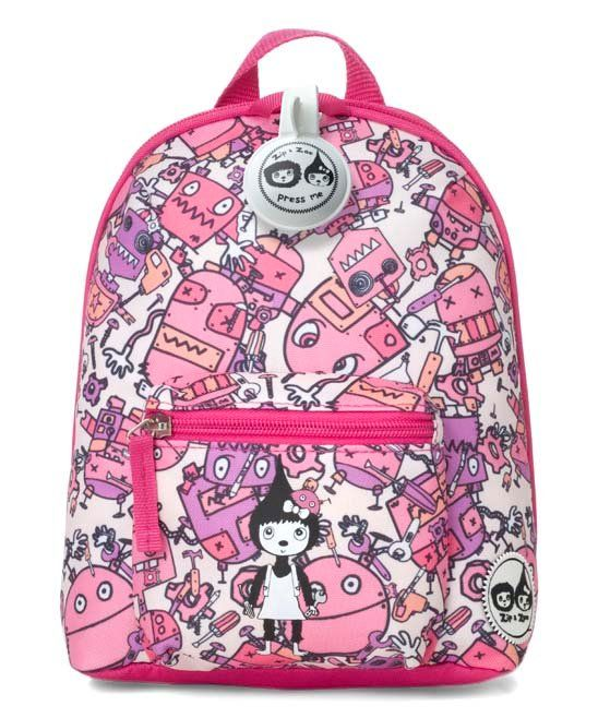 Take a look at this Pink Robot Backpack   Safety Harness today ... 53506abb83