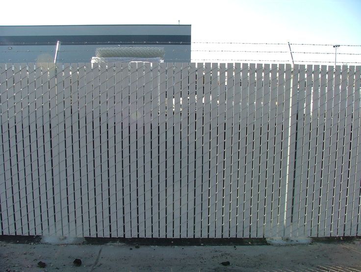 Slats For Chain Link Fence Chain Link Fence Privacy Fence