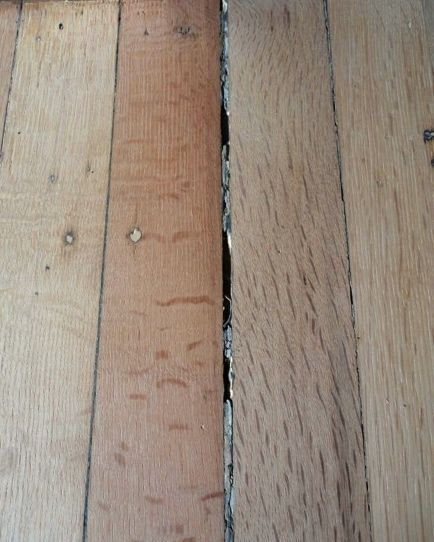 Problems With Wood Filler How Not To Fill Gaps In