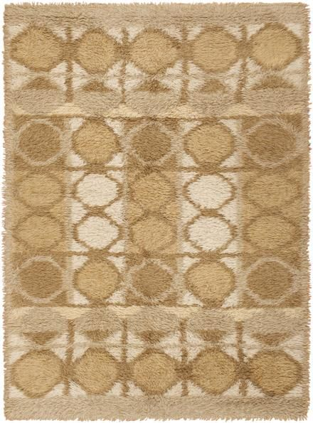 Vintage Rya Rug 45790 Main Image - By Nazmiyal