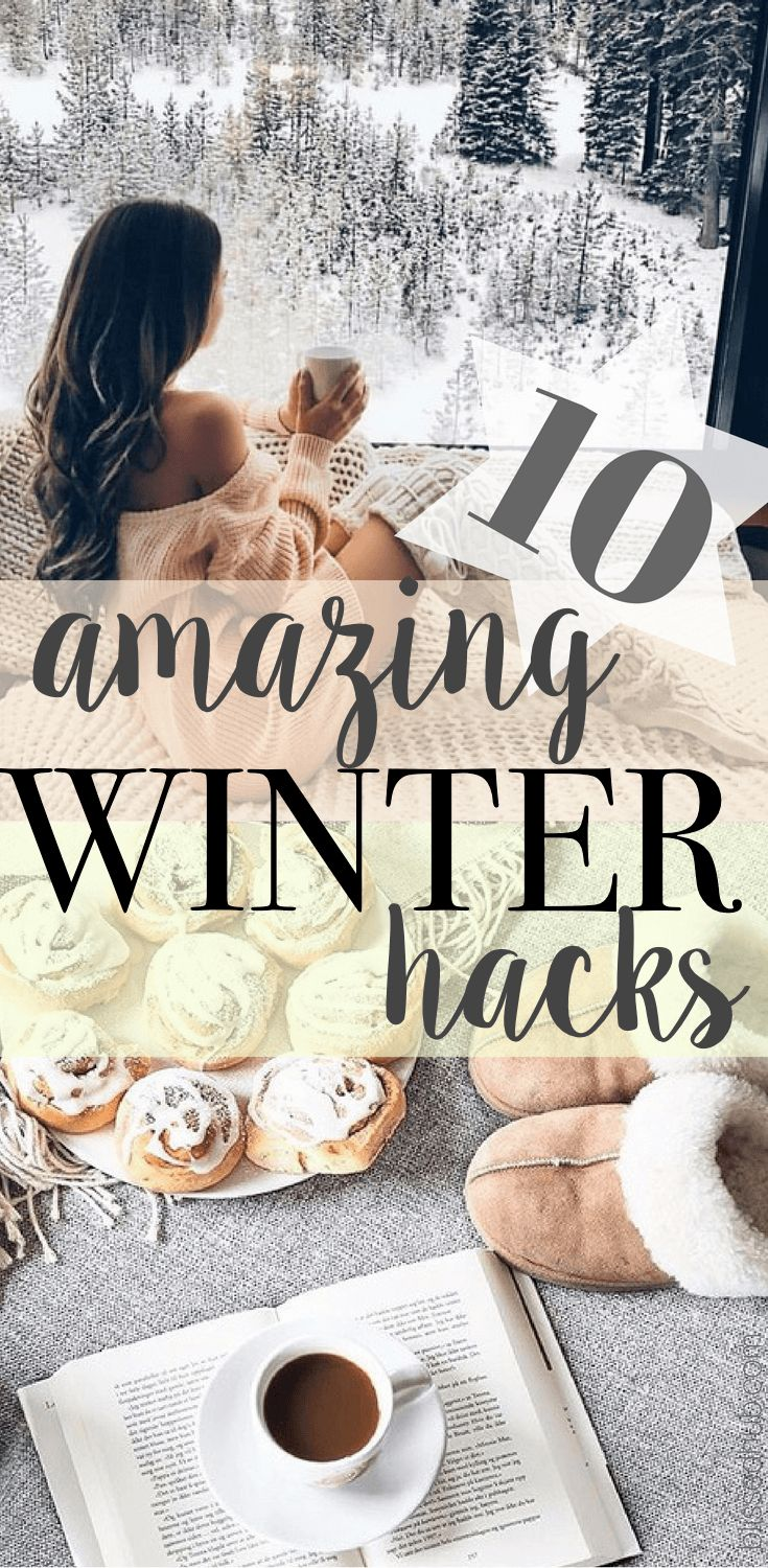 Got the sniffles? Can't keep the draft out? You must check out these 10 Winter Life Hacks to fix all your troubles during this festive season!