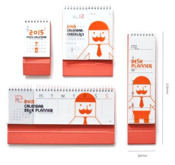 Mr.Babba Slim Desk Planner