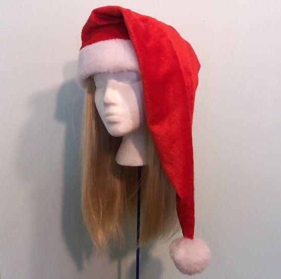 Extra long Santa hat many sizes available baby to by FrogSong