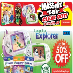 January Hot Deal - The Massive Toy Clear Out