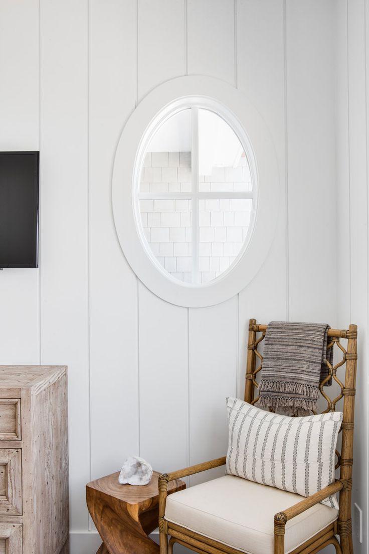 Vertical white shiplap walls   Graystone Custom Bu…