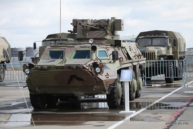 World Defense Review: BTR-4V wheeled armoured personnel carrier