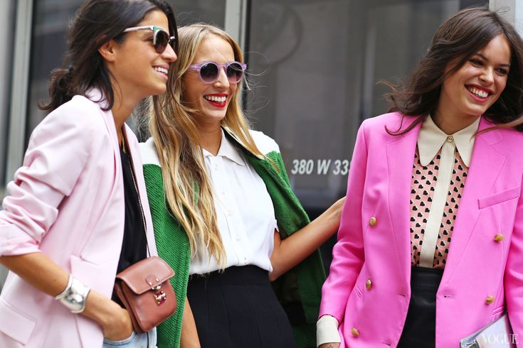 Leandra Medine, Harley Viera-Newton, and Atlanta de Cadenet Taylor at 3.1 Phillip Lim - On Leandra: Prada sunglasses