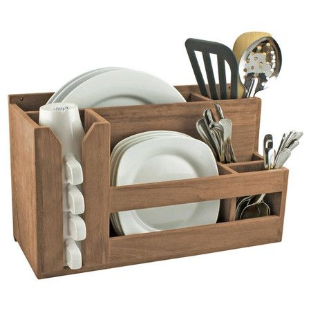 very expensive - but great idea - looks easy to make something similar Found it at Wayfair - Wall Mounted Kitchen Organizer in Natural