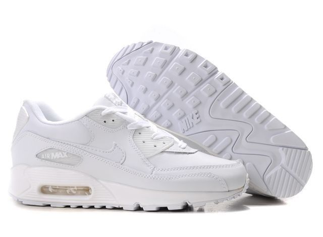 Nike Women Air Max 90 Damen Sneaker Weiß