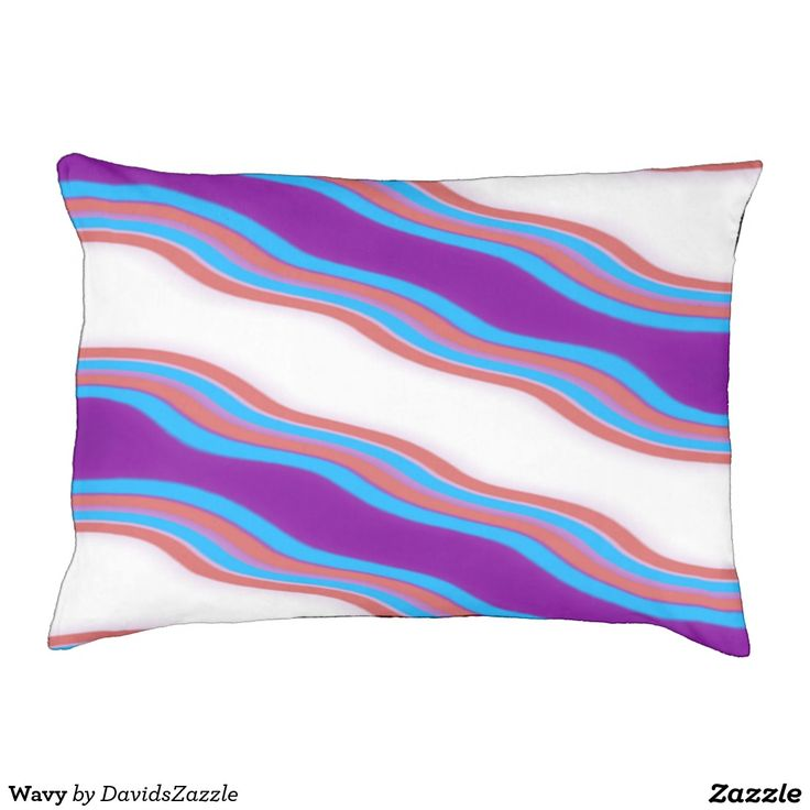 Wavy Dog Bed Available on many more designs! Type in the name of this design in the search bar on my Zazzle Products page!  #dog #pet #buy #sale #zazzle #forsale #cool #chic #modern #contemporary #abstract #abstraction #color #red #blue #purple #line #accessory #accessories #supplies #supply #bed #sleeping #sleep