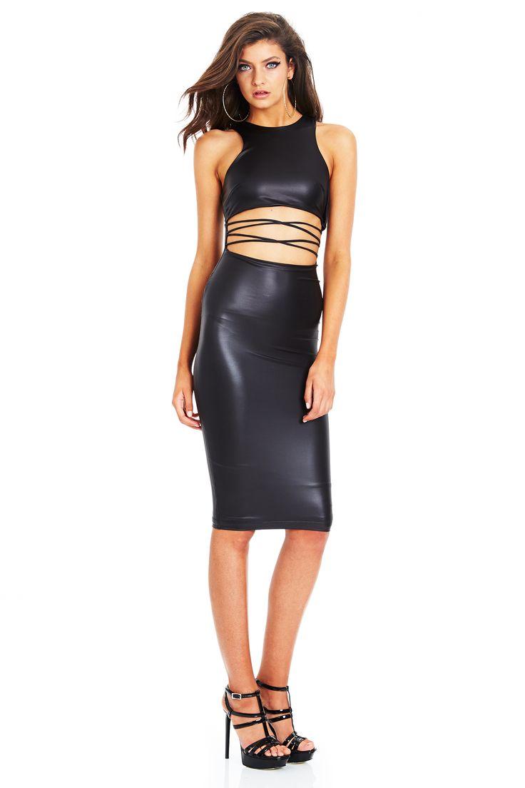 TRINITY HIGH NECK SHIFT DRESS #nookie #shesgotthelook #lovenookie