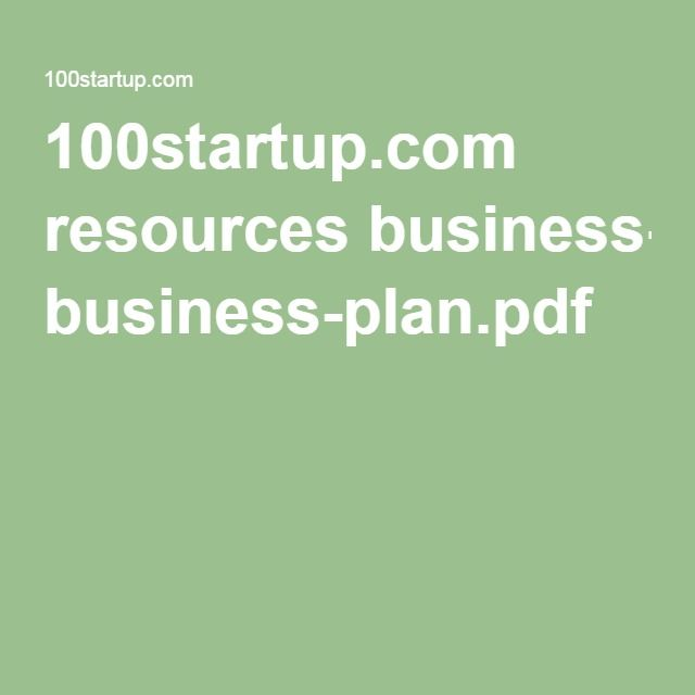 Las 25+ mejores ideas sobre Business plan pdf en Pinterest - business plan in pdf