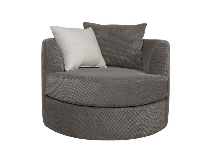 The Cuddle swivel chair, choose you fabric, choose your leg and even change the dimensions @ Wind Grove