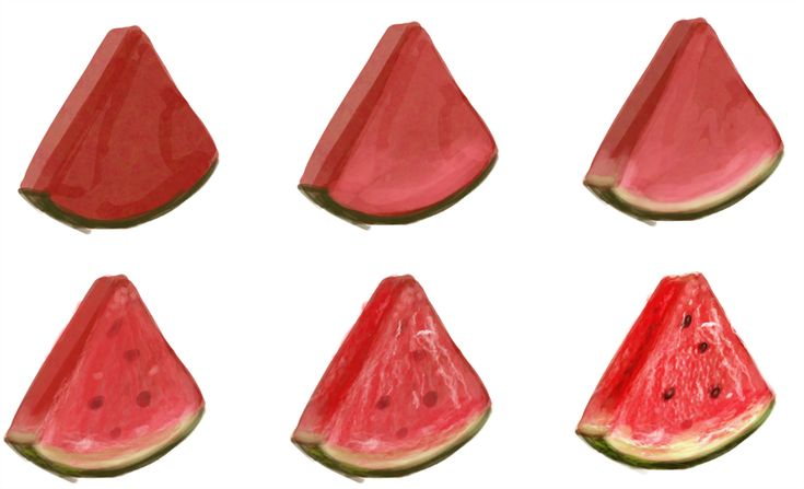 watermelon - step by step by ryky.deviantart.com on @deviantART