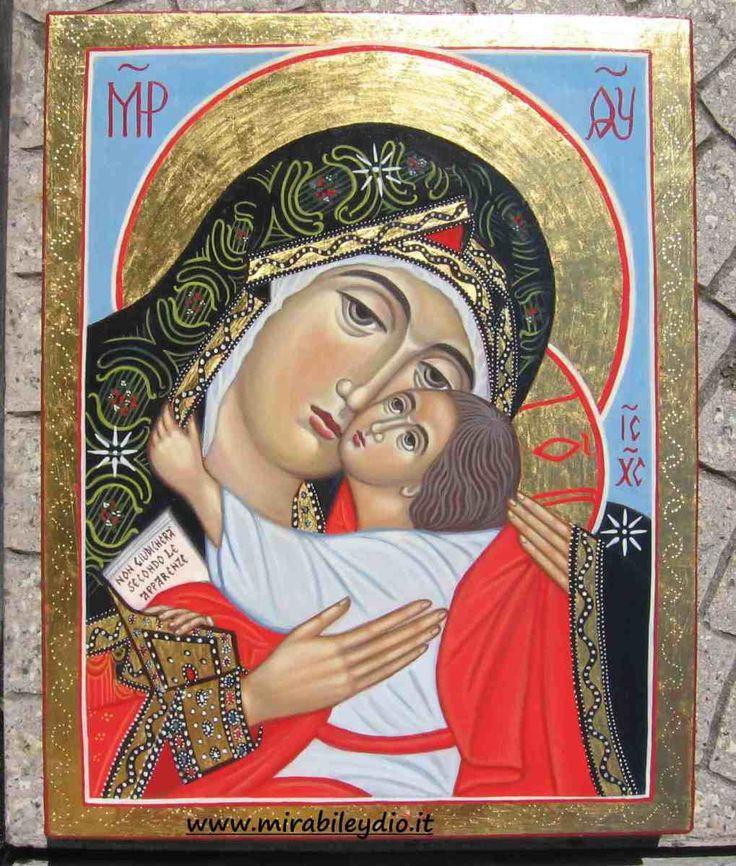 Madre di Dio Eleousa  (Madre di Dio della Tenerezza)della Bucovina