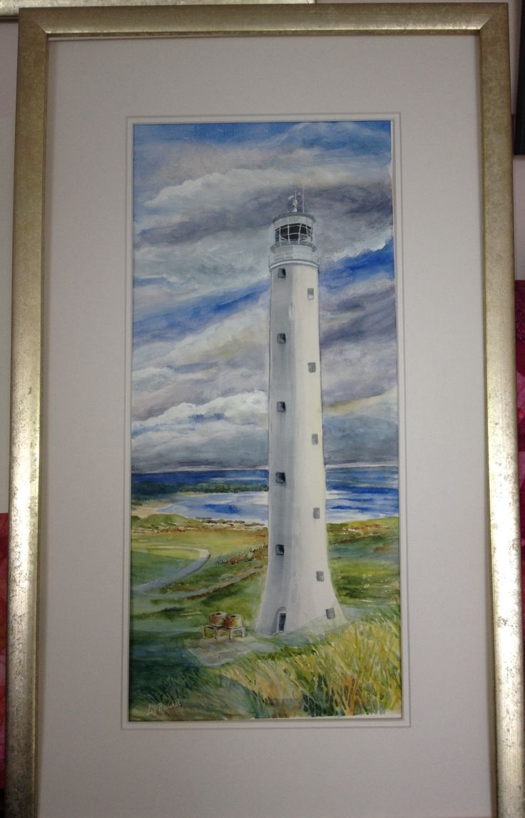 'Cape Wickham Lighthouse' by Liz Butcher Tallest lighthouse in the Southern Hemisphere.  On King Island