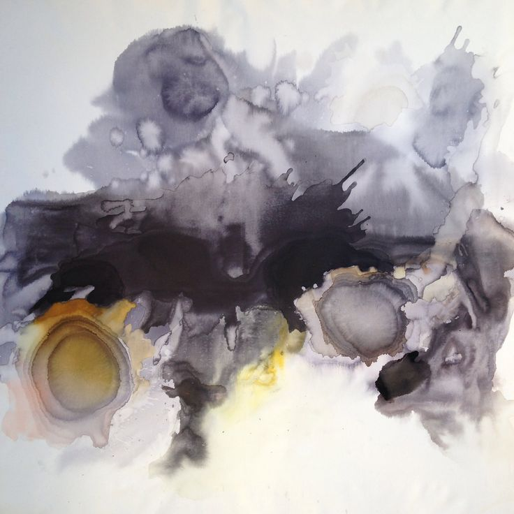 Ilaria Franza Painting #iledefrance2015 #tecnicamista #150x150 #ecoline #watercolour #china