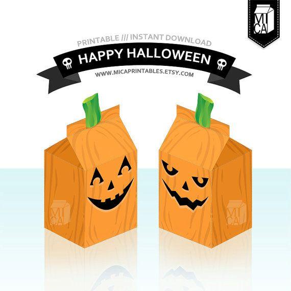 #Halloween #Printables #Party #Favor #Decoration #Pumpkin by MicaPrintables