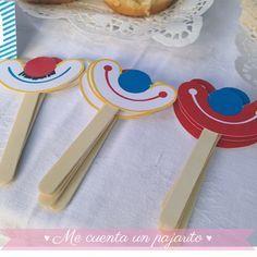 Sonrisas de payaso del cumpleaños del circo. #fiestainfantil…