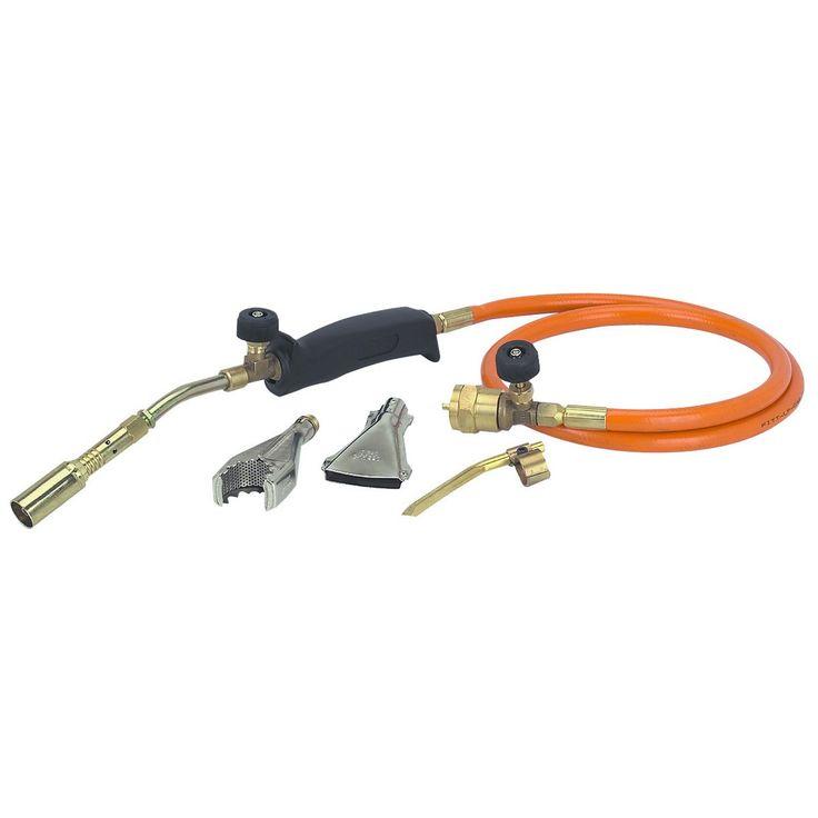 Propane brazing torch kit dewalt dcg412 grinder