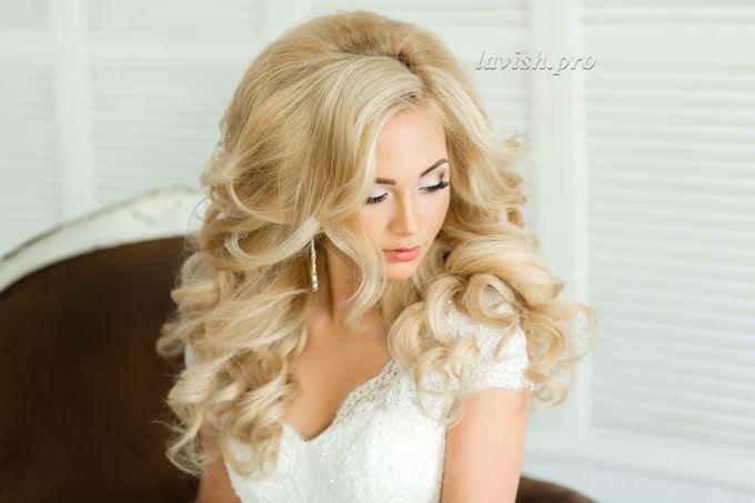 Локоны и какие виды свадебных причесок бывают с распущенными волосами : 12 сообщений : Блоги профессионалов на Невеста.info