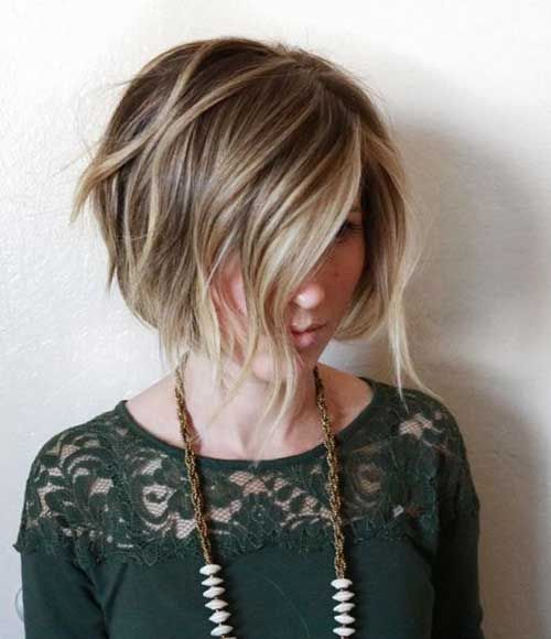 Short-Blonde-Hair-Style » New Medium Hairstyles