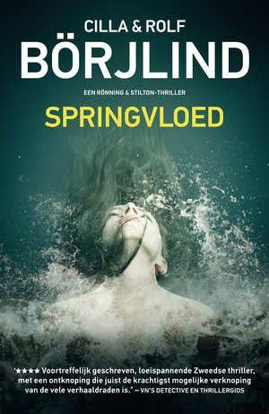 Springvloed-Cilla Börjlind, Rolf Börjlind-boek cover voorzijde