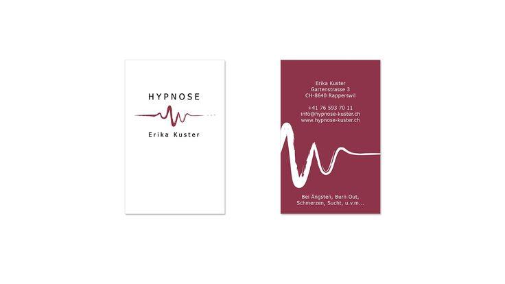 Die Visitenkarten von Hypnose Kuster - unterschiedliche Hintergrundfarben macht das ganze spannend  --- #grafikloft #hypnose #hypnosekuster #visitenkarte #businesscard #print #printmedia #brand #branding #corporate #corporatedesign #art #graphicdesign #graphics #graphic