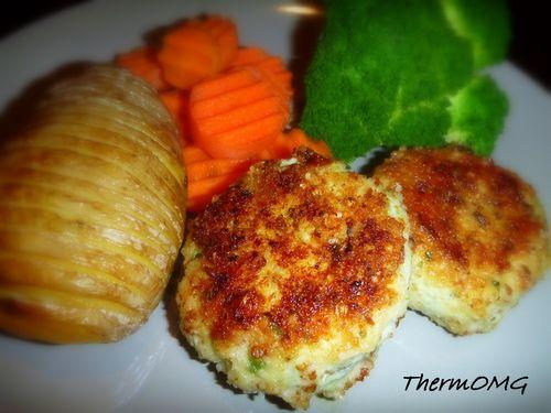Chicken and Chick Pea Rissoles — ThermOMG