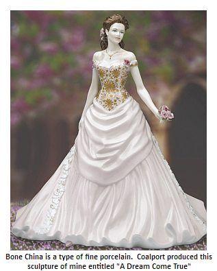 Coalport bone china figurine