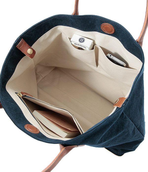 【楽天市場】トートバッグ 倉敷産10号帆布 本革 キャンバス 無地 A4 かばん 男性 おしゃれ バッグインバッグ付き メンズ レディース 鞄 Otias…
