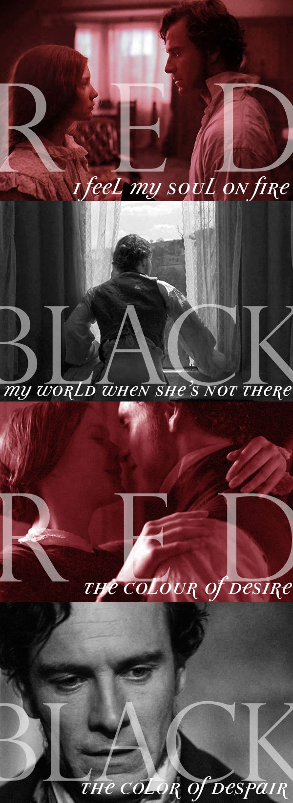 Jane Eyre - The Red and the Black