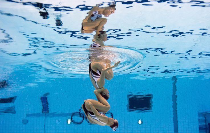 da Internazionale. Nuoto sincronizzato