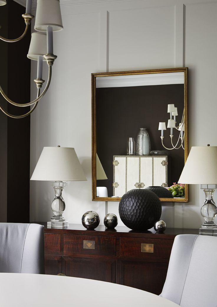 Winnetka Clapboard House Dining Room by #TomStringerDesignPartners #TSDP