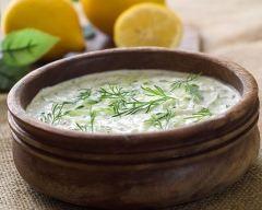 Sauce grecque à la ciboulette