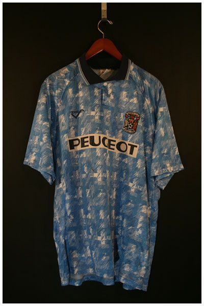 Coventry City Home - 1992/4