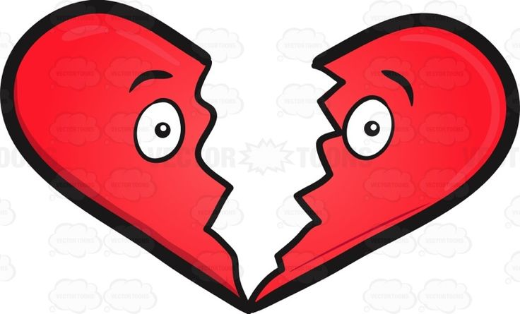 Broken Heart Emoji #big #Blackborder #border #broken #brokenheart #cartoon #cherry-red #colored #cracked #Crimson #crushed #cute #disassembled #emoji #emoticon #form #heart #heartshape #heartshaped #heartbroken #huge #object #red #ruby #scarlet #shape #smiley #smilies #twoparts #vector #clipart #stock