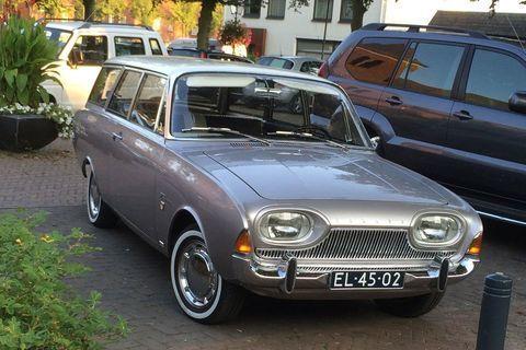 In het wild: Ford Taunus (1964)   Autonieuws - AutoWeek.nl