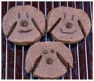 Biscuits pour chien au fromage Plus
