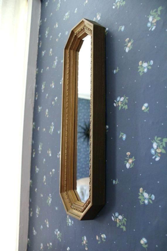 Wonderful Long Narrow Bathroom Mirrors Wall Mirrors Narrow Wall