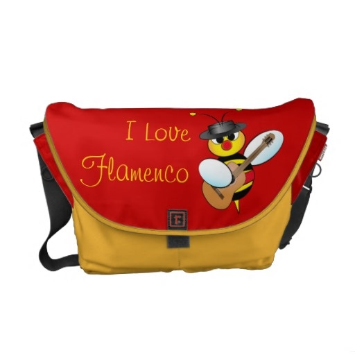 Flamenco Bag Courier Bags $104.95