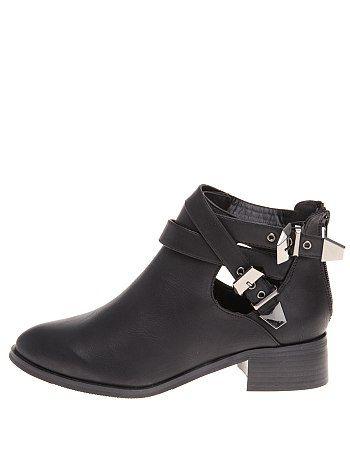 Boots doubles boucles                                                                                         noir Femme